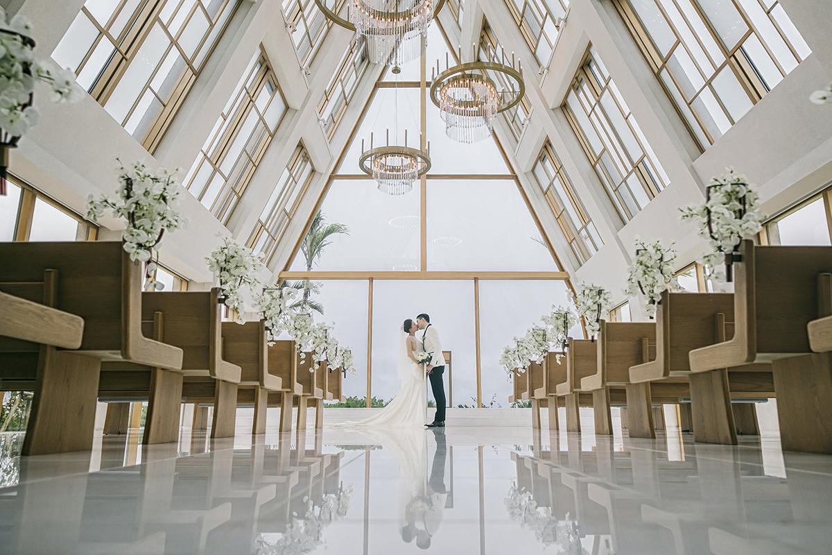 海外婚禮 ∥ 沖繩美之教會の祝福