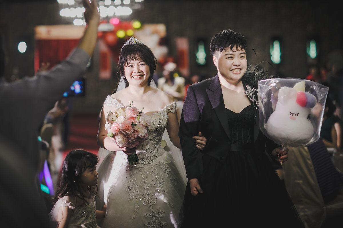 彩虹婚禮 ∥ Kuna & May