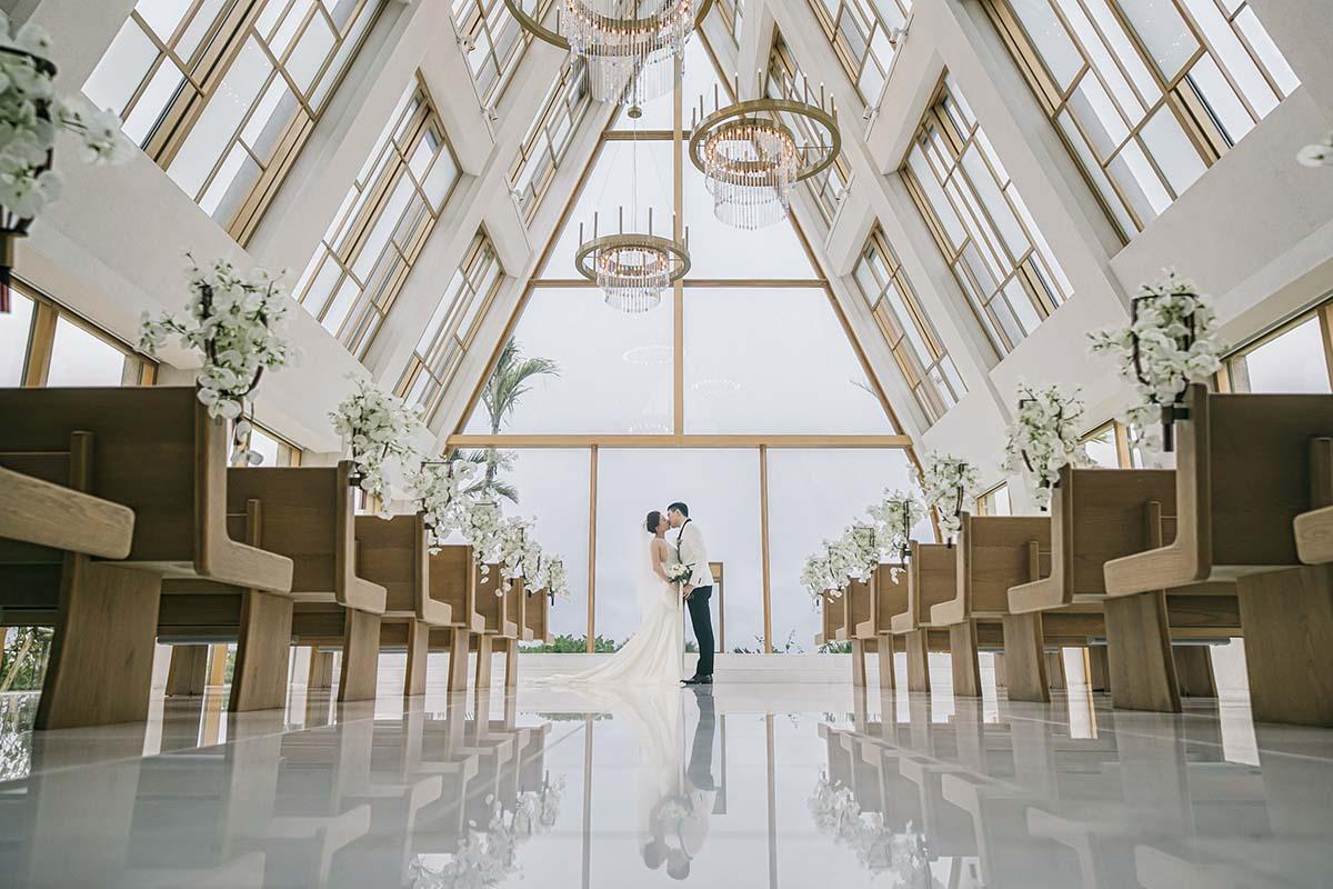 沖繩美之教會的海外婚禮