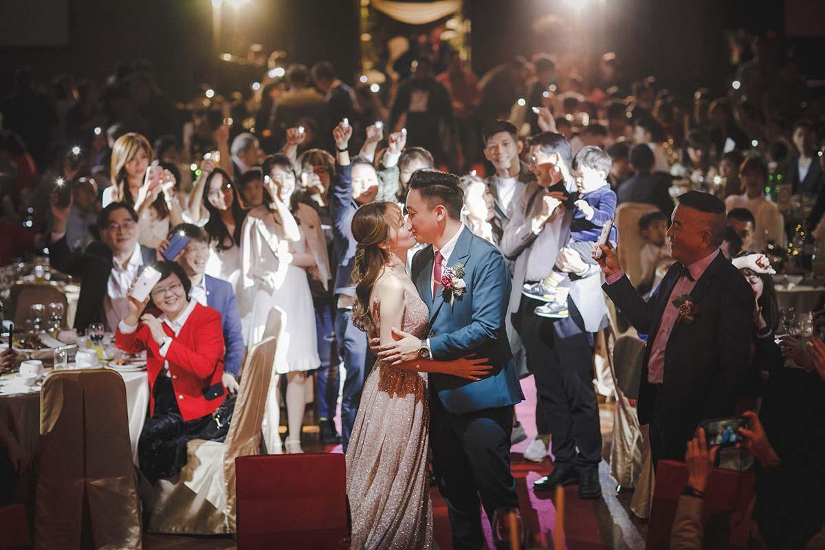 婚禮現場的攝影