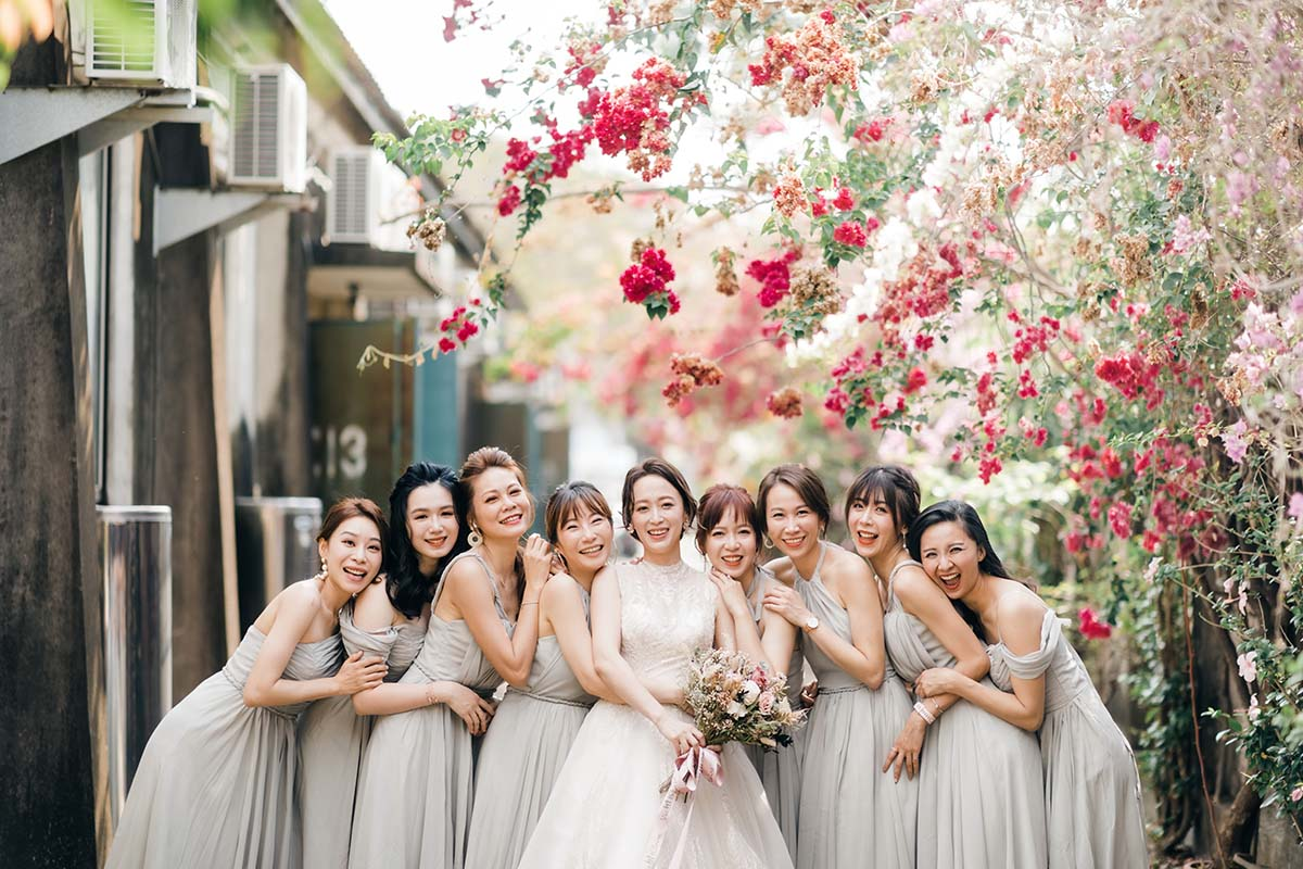新娘與閨蜜們